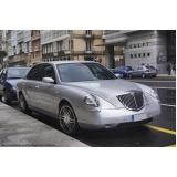 locação de carros executivos com motorista preço em Sumaré